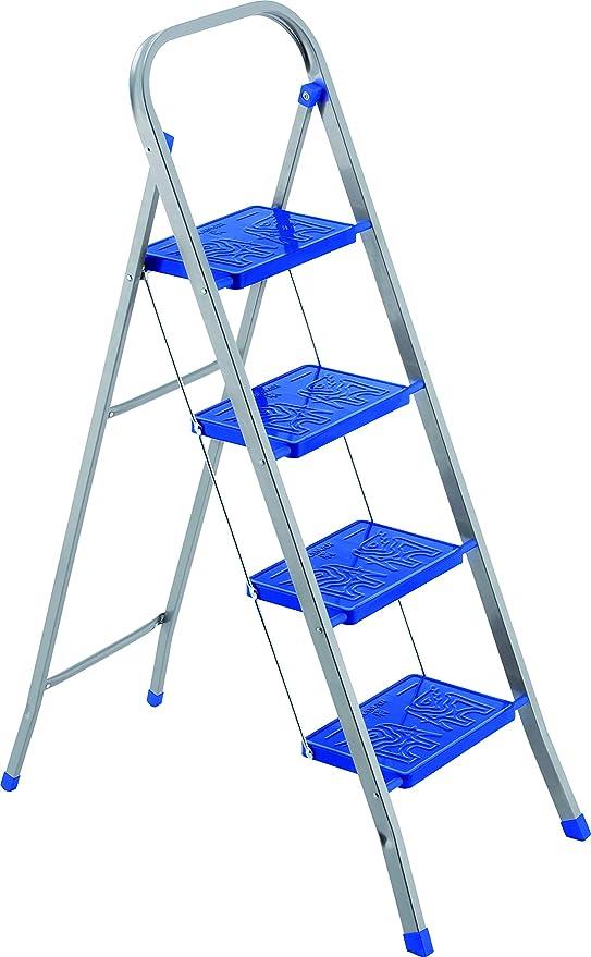 Framar - Escalera doméstica, 4 peldaños: Amazon.es: Hogar