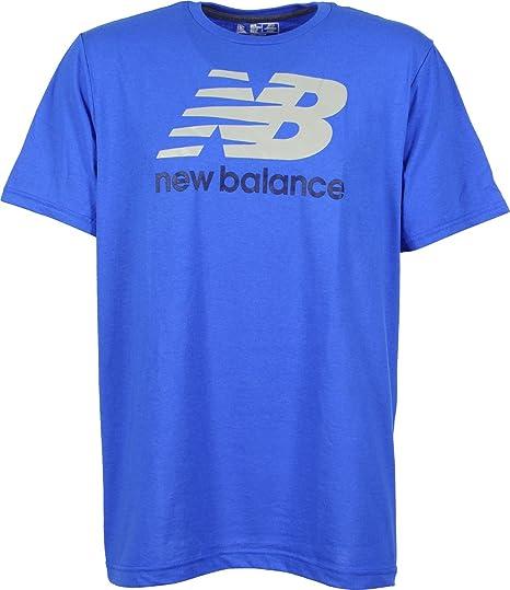 T-Shirt In Blue - Blue New Balance bQDdBOb