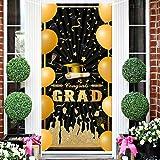 2021 Graduation Banner - Congrats Grad Door Banner Door Sign Graduation Door Cover Photo Booth Backdrop Background Large Welc