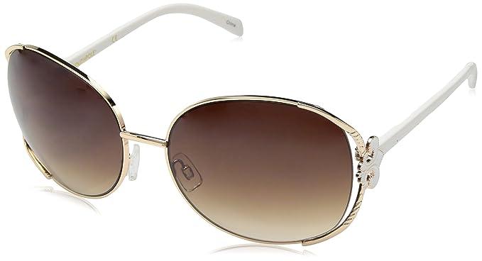 e0c62f30ed Amazon.com  Southpole Boys 420SP GLDWH Oval Sunglasses