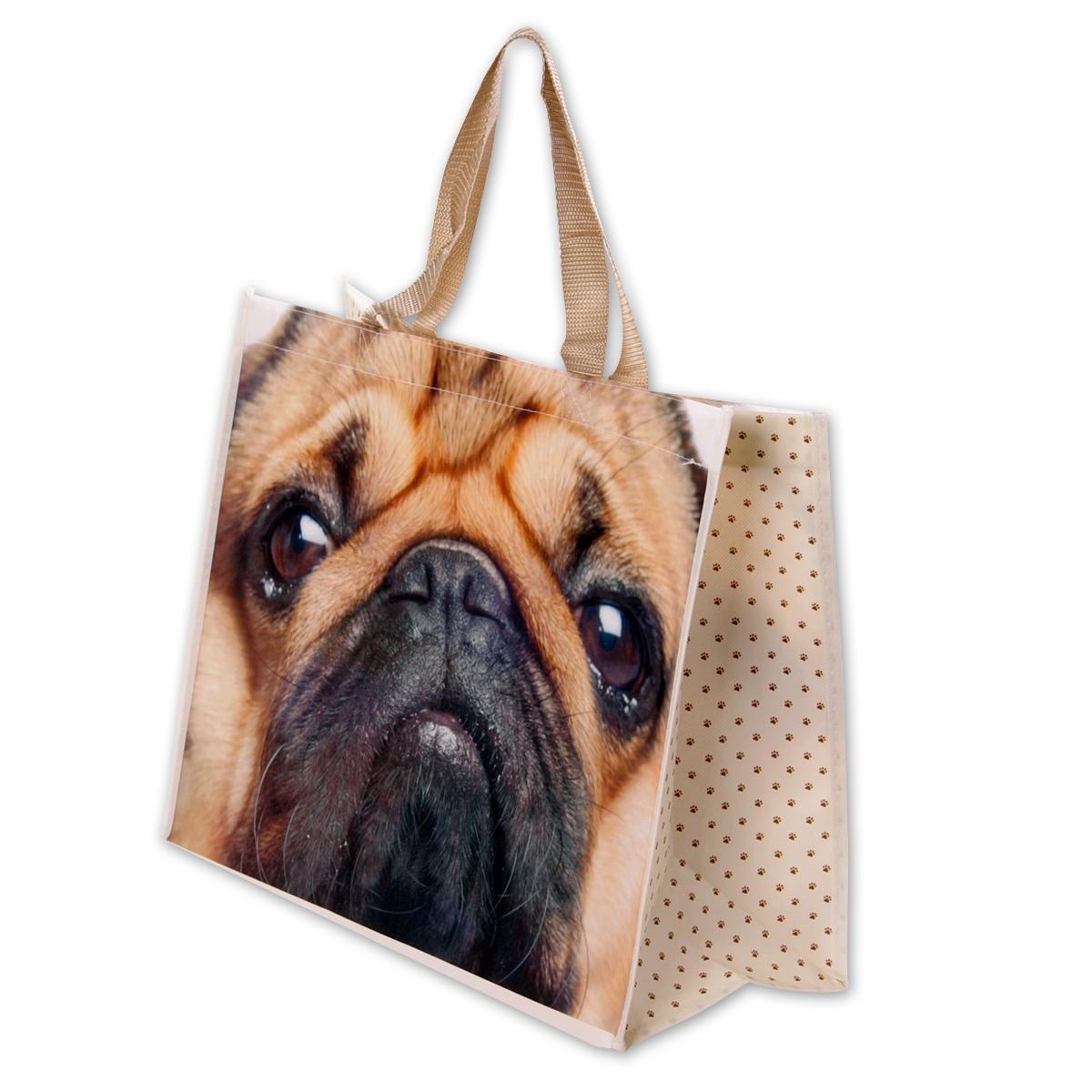 Close Up Pugs /& Kisses Bag
