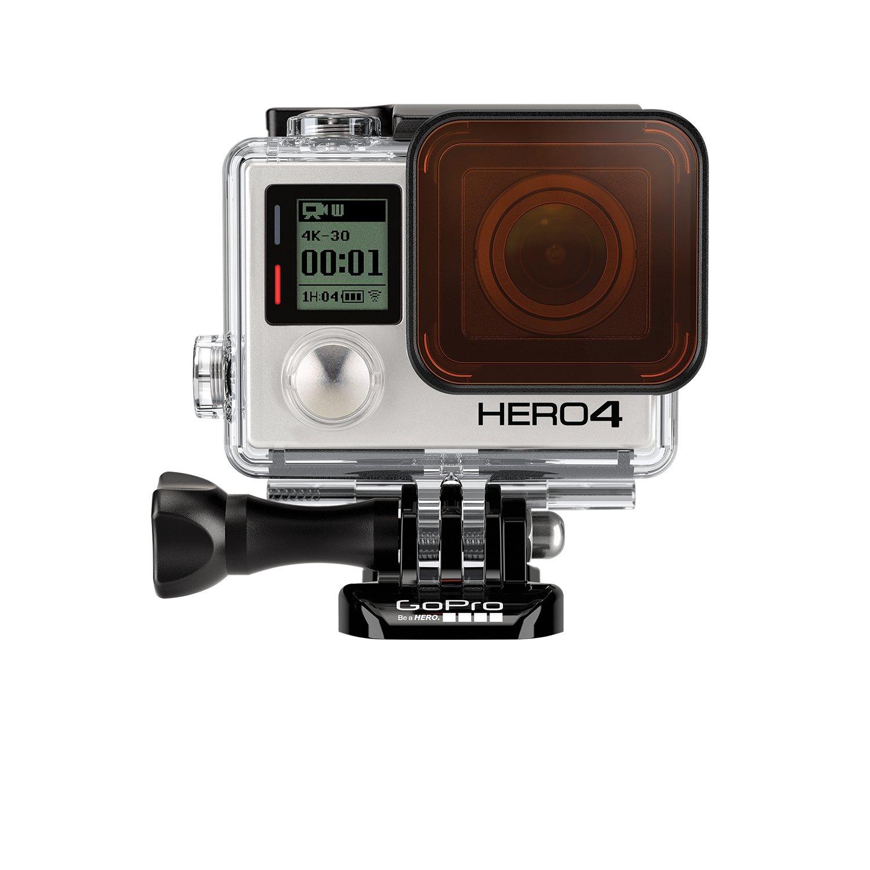 Filtro de Buceo Rojo GoPro ABDFR-301 para la Carcasa est/ándar + Opaca