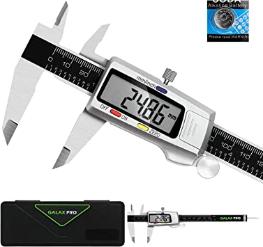 Inch//Metric Conversion Stainless Steel Digital Caliper 6 inch//150mm