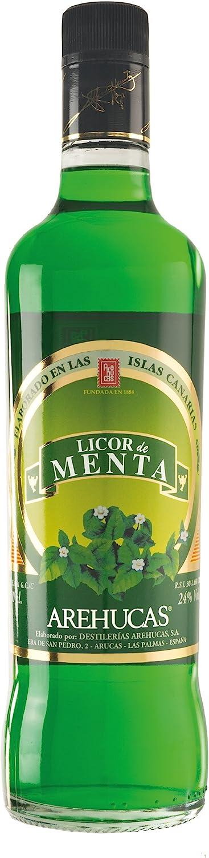 arehucas licor de menta menta de licor, 1er Pack (1 x 700 ml ...