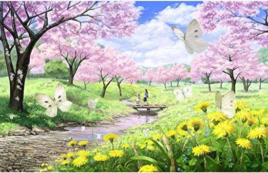 Puzzle House- Basswood Jigsaw Puzzle de Arte de Pintura cómica Japonesa 500/1000/1500 Piezas en