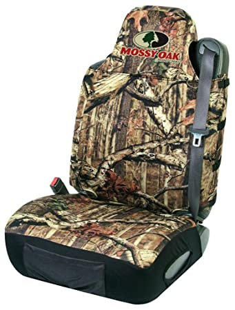 Single Brown//Realtree AP Camo Bone Collector Lowback Neoprene Seat Cover Low Back