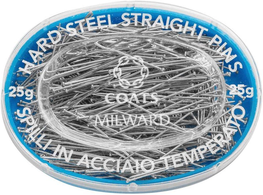 25g Straight Pins Silver 32 x 0.60mm