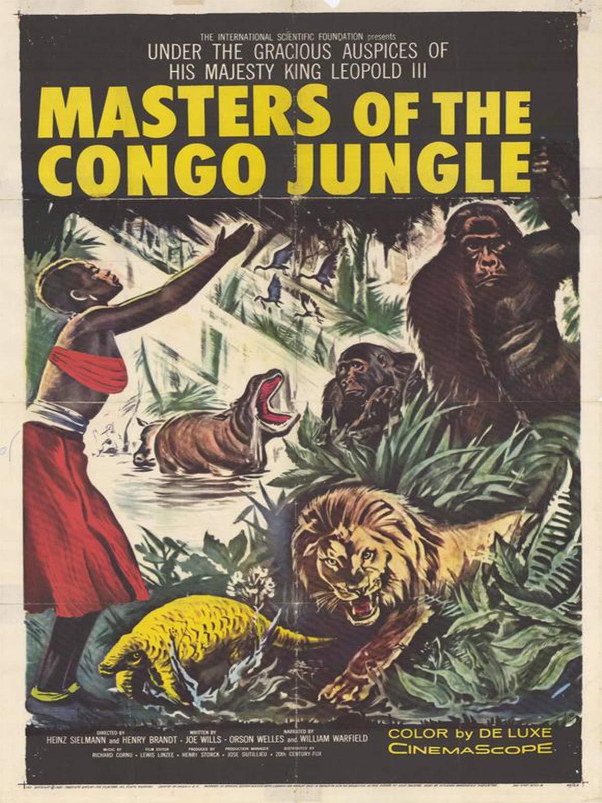 Masters of the Congo Jungle on Amazon Prime Video UK