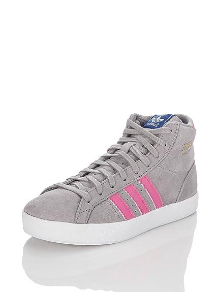 Felmini Adidas - Basket Profi K - Sneakers Hautes - Gris/Fuchsia - q35029 -  Multicolore - Gris/Rose, 38 EU: Amazon.fr: Chaussures et Sacs