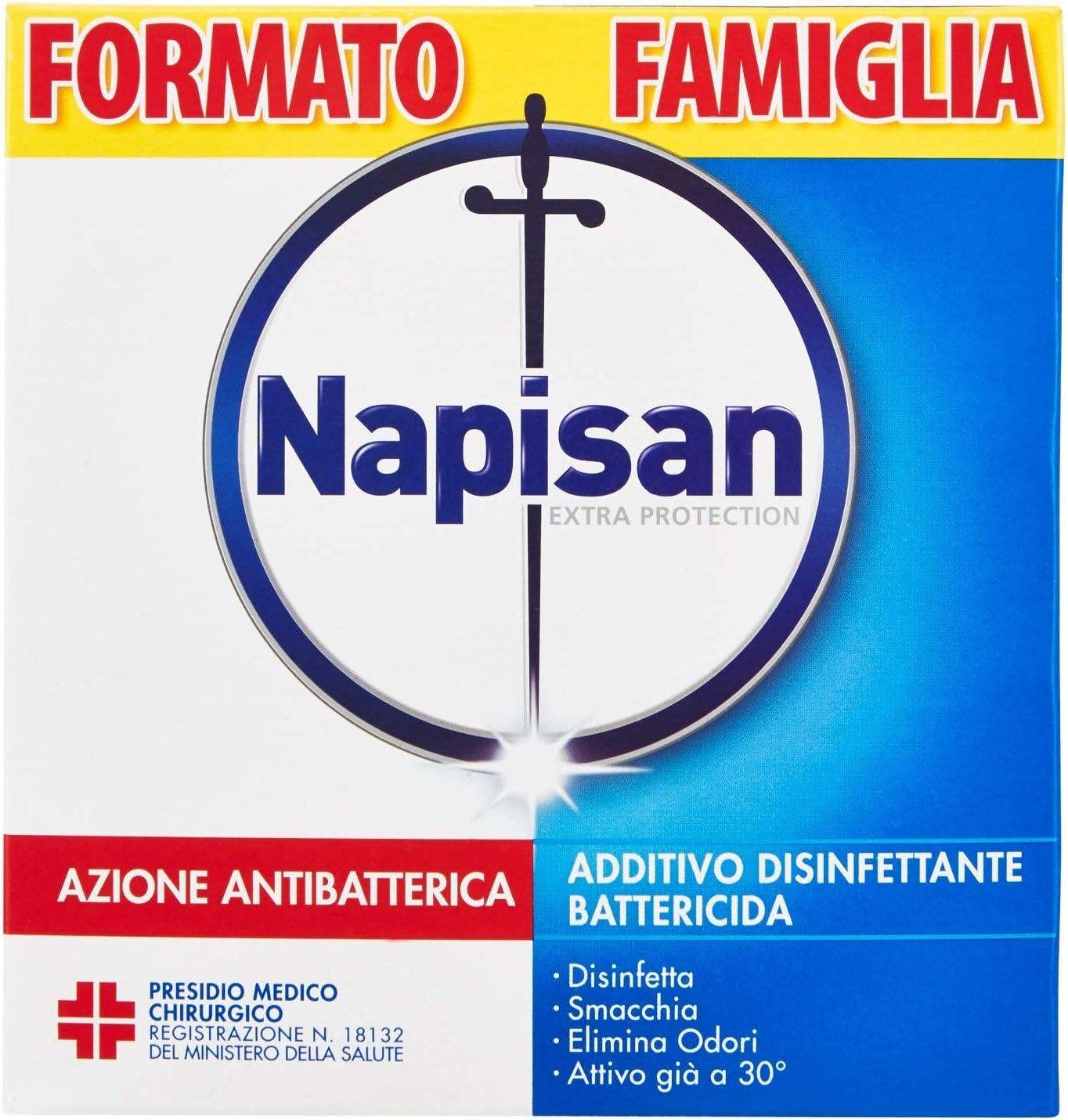 TALLA 1 Pezzo. Napisan Extra Protection - Aditivo desinfectante en polvo
