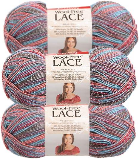 10 x Knitting Yarn 8 Ply 100g Multi Colour Parrot Soft Brand New