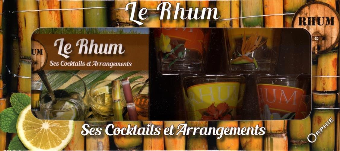 Coffret Rhum : Contient : 4 petits verres décorés Broché – 1 décembre 2015 Collectif Orphie B015A9FZGO Cuisine / Vins
