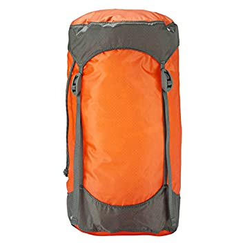 Trekmates Ultralight Compression - Funda de compresión para Saco de Dormir, Color Naranja, Talla