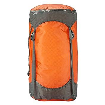 Trekmates Ultralight Compression - Funda de compresión para Saco de Dormir, Color Naranja, Talla 5 Liter: Amazon.es: Deportes y aire libre