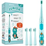 Vekkia Dragon Lord Sonic Rechargeable Kids Electric Toothbrush, 3 Modes With Memory, Fun & Easy Cleaning, 31000 Strokes…