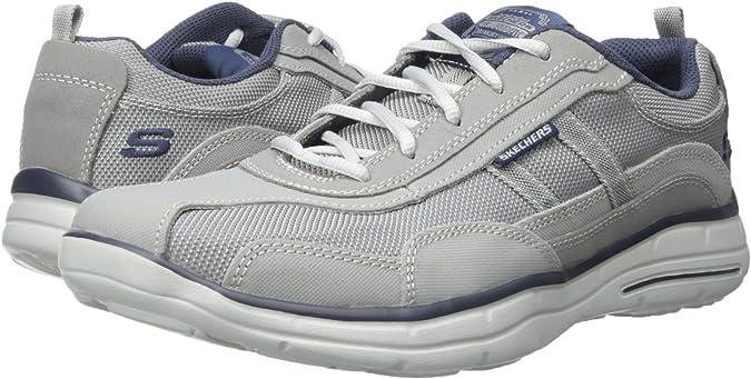 Skechers64501 - Skechers 64501 Hombre , Gris (gris), 46 EU: Skechers: Amazon.es: Zapatos y complementos