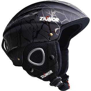 Zionar Lagopus H1 Ski and Snowboard Helmet
