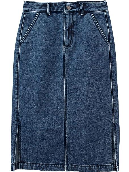 Vestidos y faldas en jeans