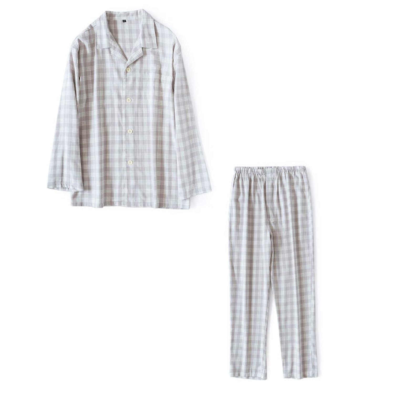 Amazon.com  NOMSOCR Womens Cotton Flannel Long Sleeve Pajamas Set ... 922caf282
