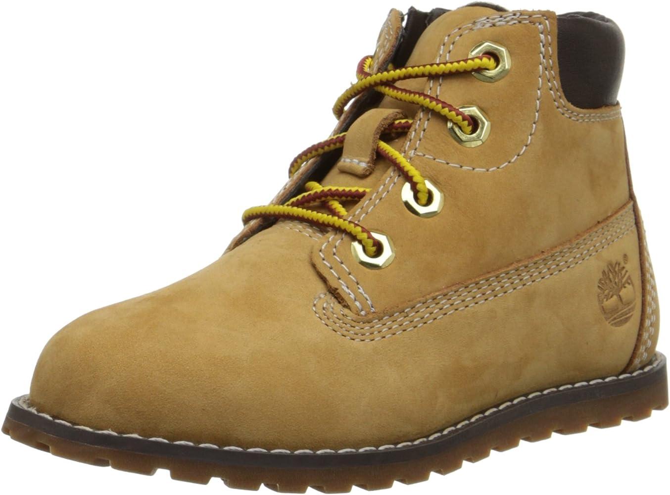 forma elegante marchio famoso prezzo più economico Timberland Unisex Kids' Pokey Pine 6In Boot with Side Zip High ...