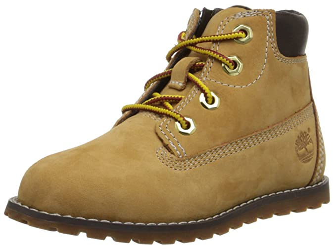 Timberland Unisex-Kinder Pokey Pine 6in Boot with Side Zip Stiefel