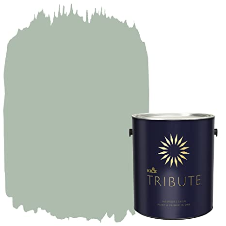 Image Unavailable  sc 1 st  Amazon.com & KILZ TRIBUTE Interior Satin Paint and Primer in One 1 Gallon ...