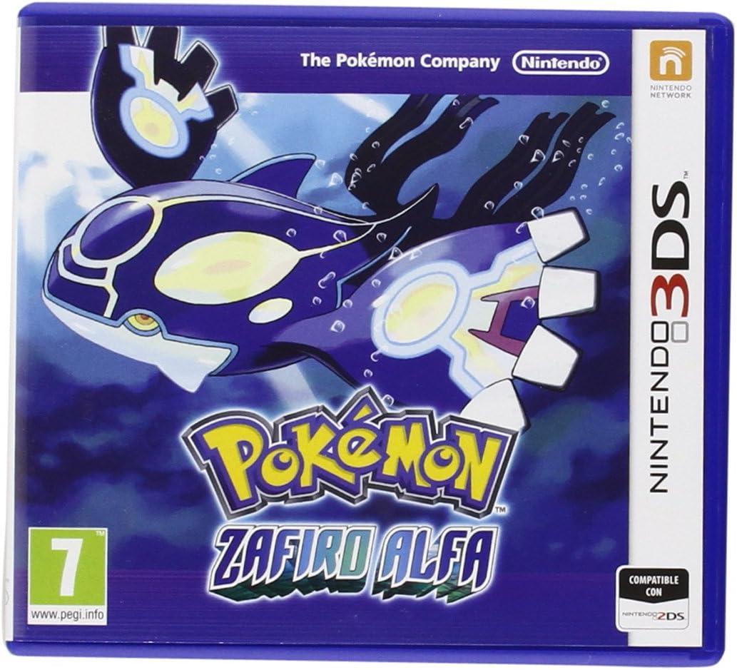 Pokémon: Zafiro Alfa Modelo antiguo