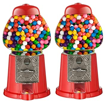 Mini With Party 2x Toy Bag Gum Gumball Bubble Aqs Dispenser Machine 5RzxUUY