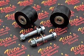 Black For 1996 Yamaha YFZ350 Banshee ATV~All Balls 79-5007 Chain Roller