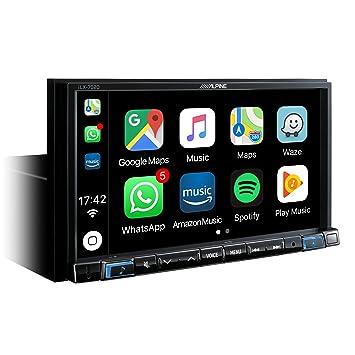 Alpine iLX-702D Bluetooth Negro Receptor Multimedia para Coche - Radio para Coche (Dab+,FM,LW,MW, 87,5-108 MHz, 153-281 kHz, 17,8 cm (7