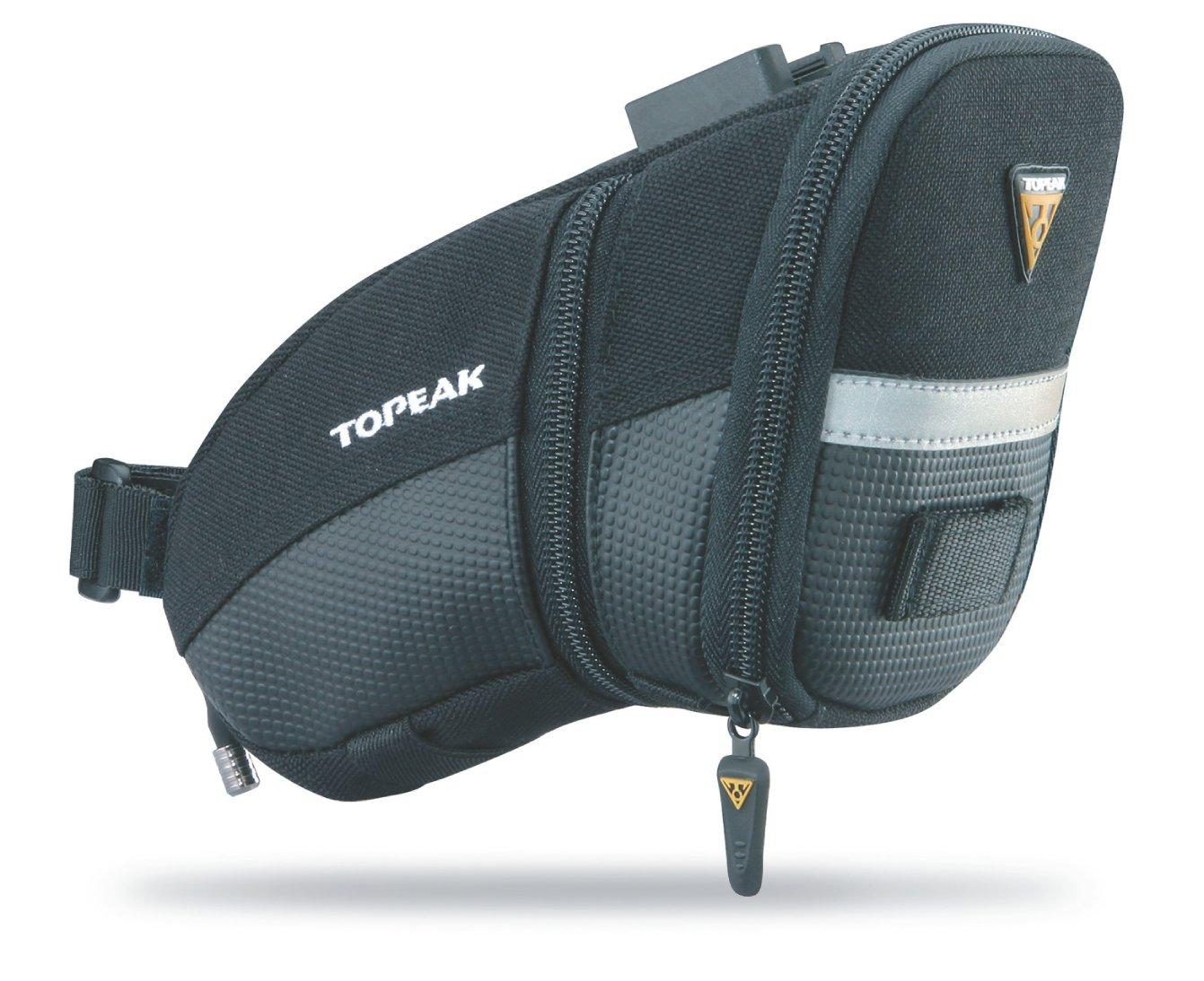 Topeak Aero Wedge Pack, w/Fixer F25, Medium