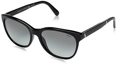Polo Ralph Lauren 0Ph4117 500111, Montures de Lunettes Femme, Noir  (Black Grey 301b51bc10d6