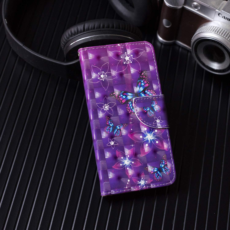 Felfy Compatibile con Custodia Samsung Galaxy S7 Edge Cover Portafoglio in Pelle,Bling Glitter Brillantini Dipinto Modello Flip Wallet PU Cover Card Slot Stand Magnetico AntiGraffio Case.Mandala