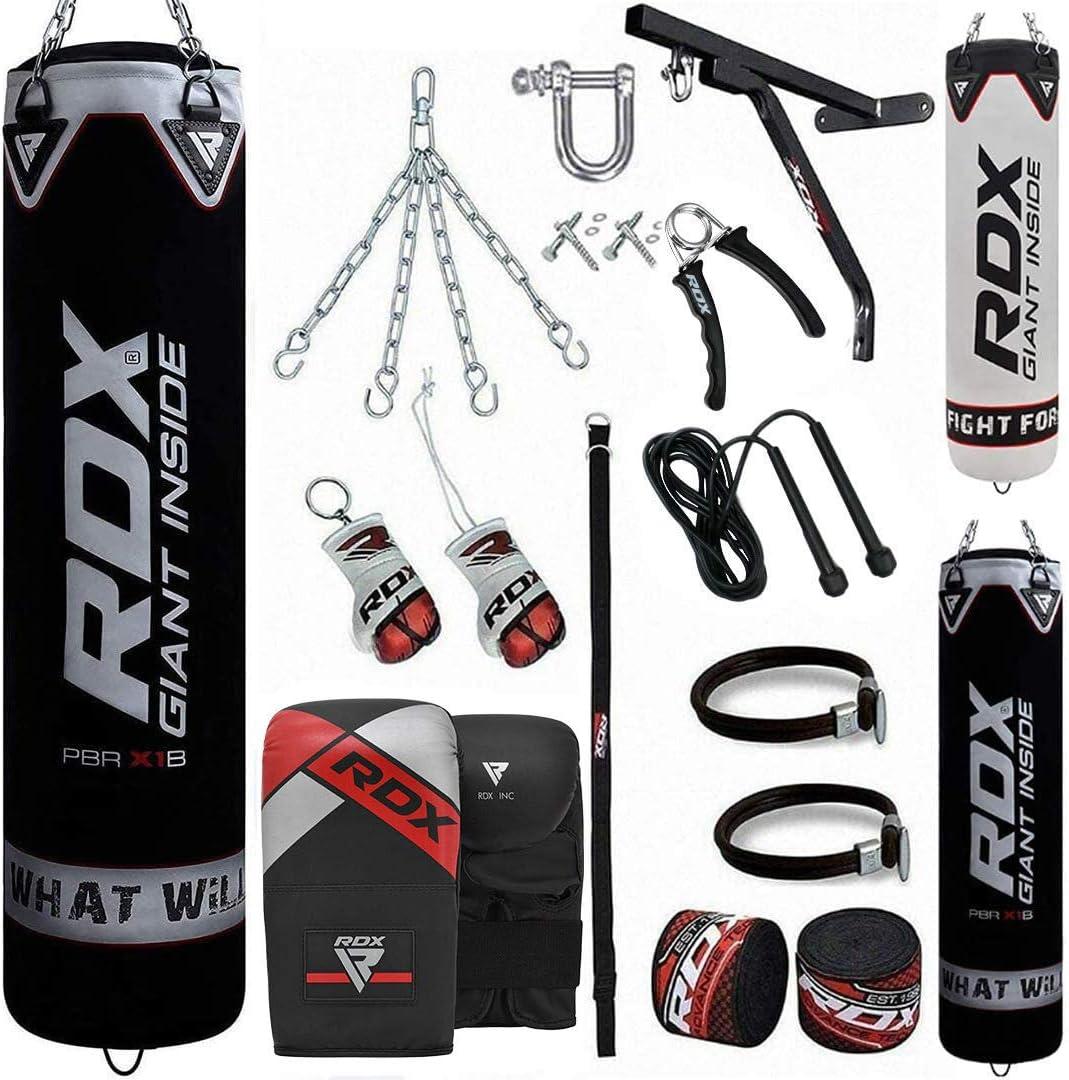 Boxing Boxsack Red MMA Trainingsgerät vier Teile enthalten Set