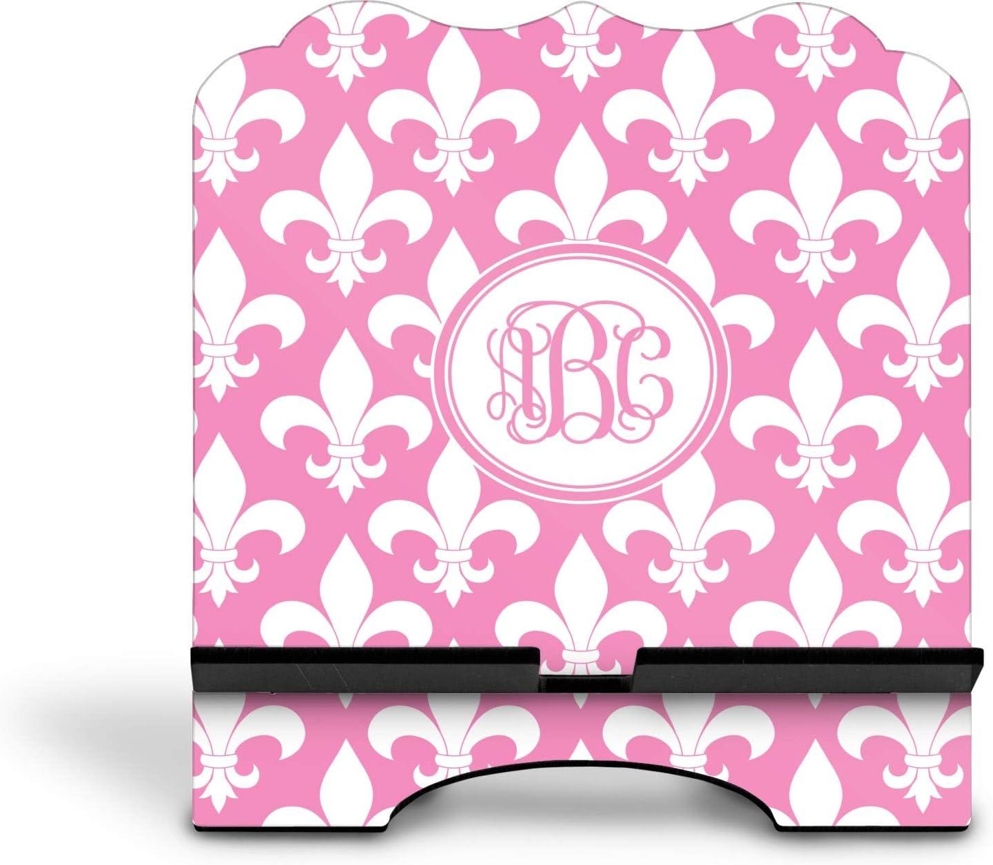 Personalized YouCustomizeIt Fleur De Lis Stylized Tablet Stand