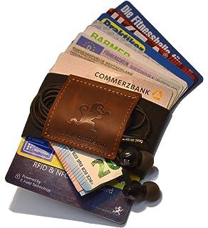a6b673d3a9fef Premium Slim Wallet   Kartenetui mit Geldklammer (4-12 Karten) - Crazy Horse