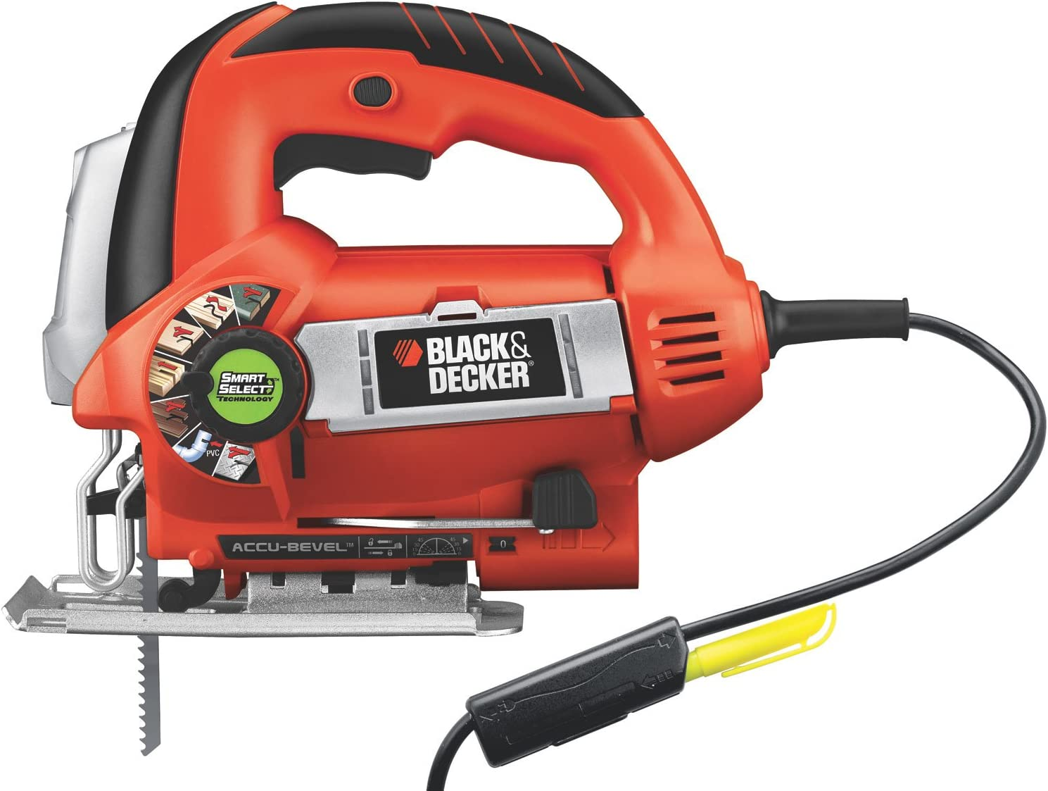 BLACK DECKER Jig Saw, 6.0-Amp JS670V
