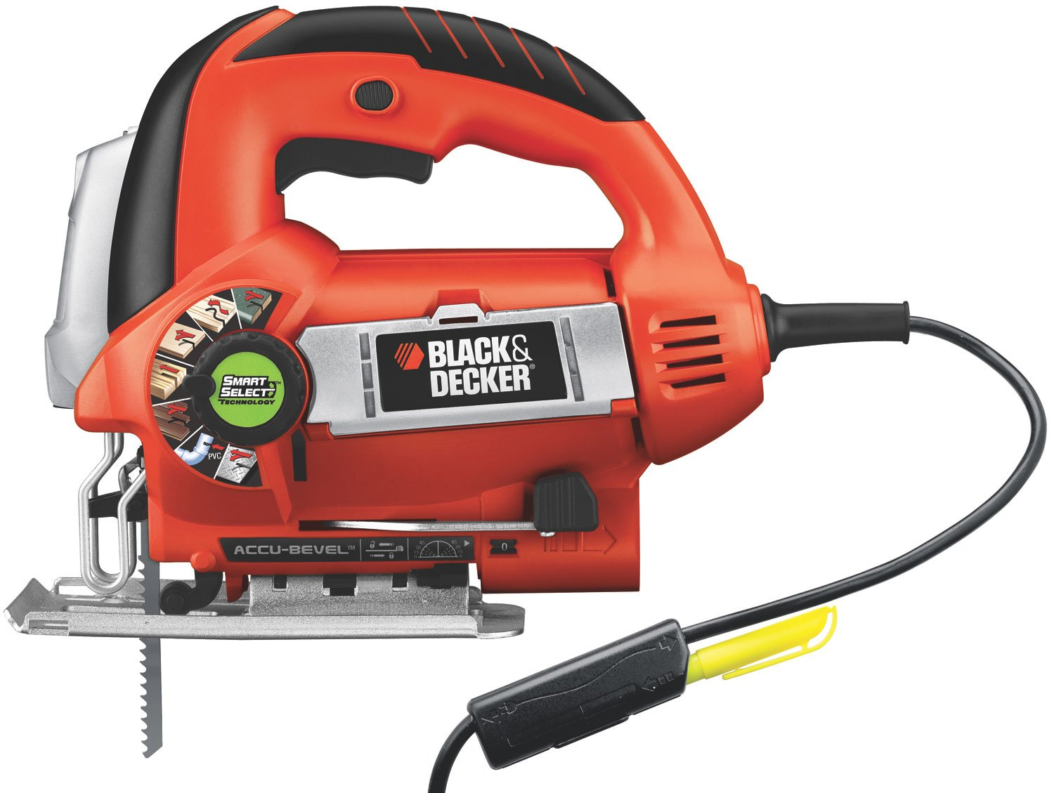 BLACK+DECKER JS670V LineFinder Orbital Jigsaw with SmartSelect Technology