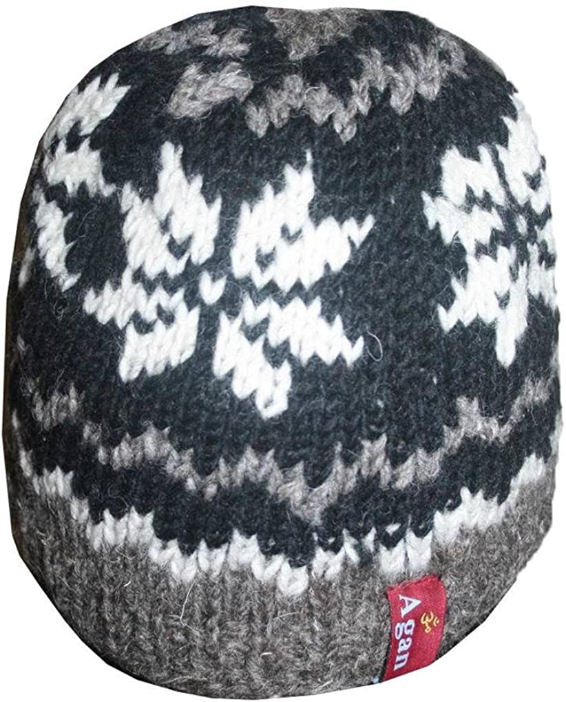 Agan Traders Trendy Hats Knit for Women Peak Wool Thick Warm Fleece Lining Hat Cap