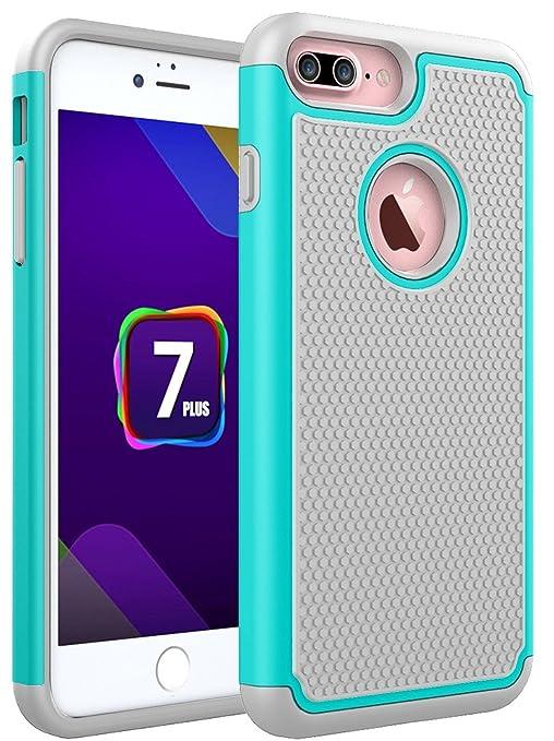 7 opinioni per iPhone 7 Plus Custodia, Pasonomi Doppio Strato Portatile Custodia Copertura