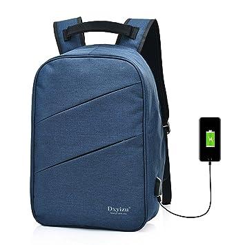 Kigurumi Mochila Portátil con Puerto de Carga USB Casual Mochila ordenador Negocio Daypack Bolsa de Viaje: Amazon.es: Equipaje