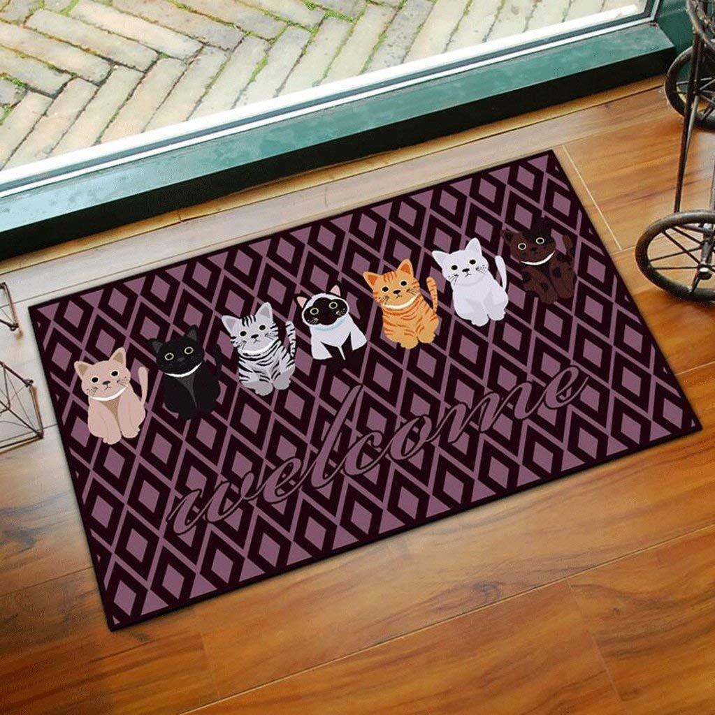 MingXinJia Anti-Rutsch-Teppich Matten Bodenmatte Home Family Indoor Outdoor Outdoor Outdoor Küche Bad Wasserdichte Matte Tür Hause Türmatte B07L1RW71K Duschmatten 02836a