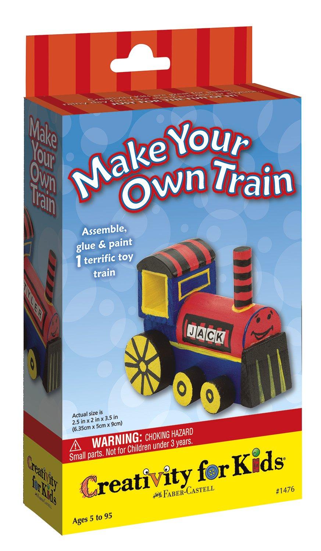 creativity for kids mini kit make your own train amazon co uk
