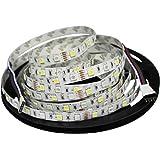 ESUMIC® RGBW LED Light Strip 16.4ft 5M Flexible Non-waterproof RGB+White 300leds Color Changing Strip Light (RGBW)