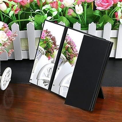 254543c3167 Gadgetzone® Black Freestanding Table Top Hollywood Style Vanity Mirror  Shaving Mirror Light Up Mirror Illuminated