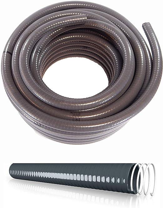 Schlauch24 adhesivas Manguera espiral Manguera Manguera Flexible de PVC flexible – Metro 20 x 16 mm: Amazon.es: Jardín
