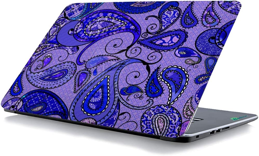 RADANYA Paisley Laptop Skin Cover Kunst Aufkleber Passt 14,1 Zoll Bis 15,6 Zoll