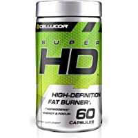 Cellucor SuperHD Thermogenic Fat Burner Weight Loss Supplement, Appetite Suppressant, & Energy Booster Capsimax, Green…