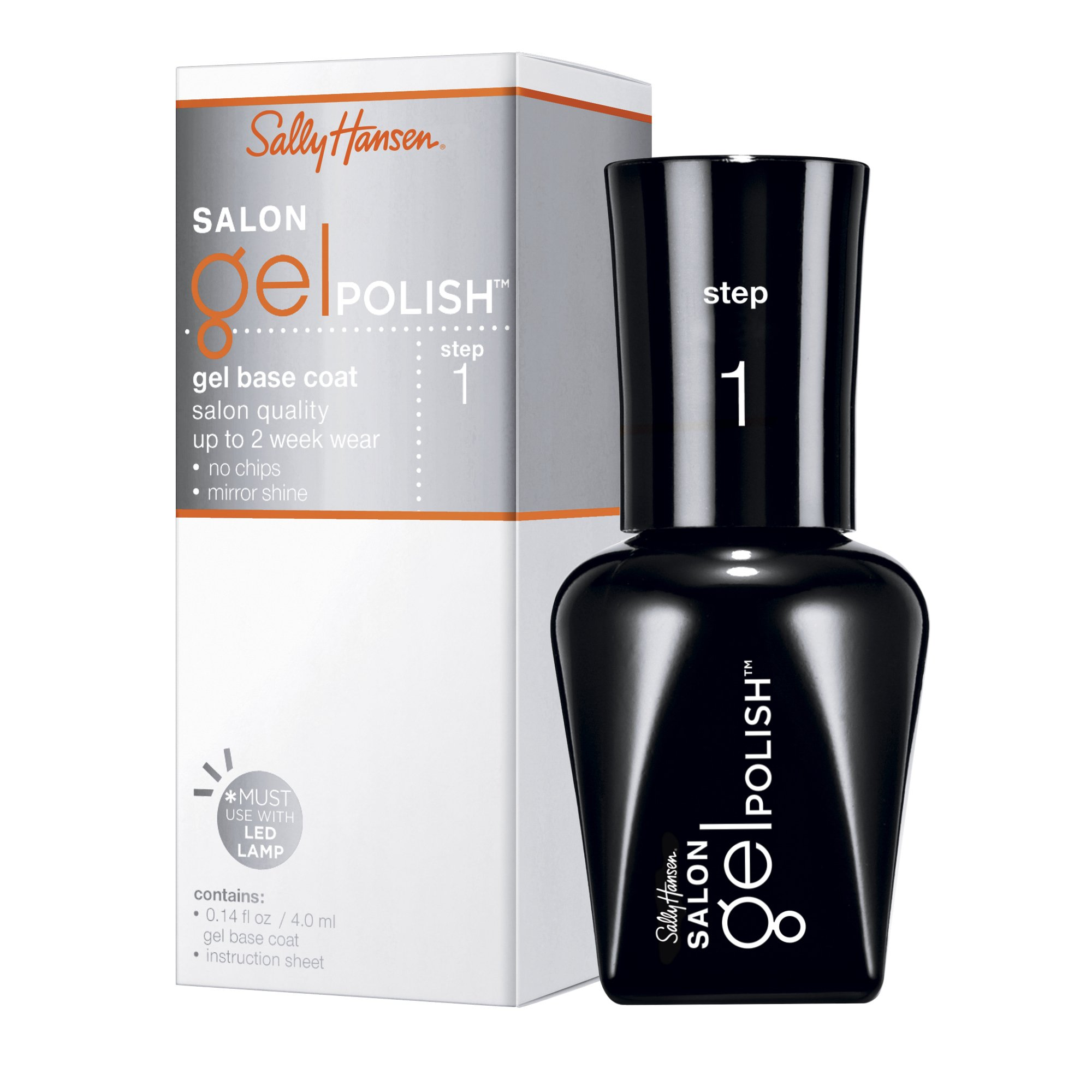 Sally Hansen Salon Pro Gel, Pro-Gel Base Coat, 0.14 Fluid Ounce
