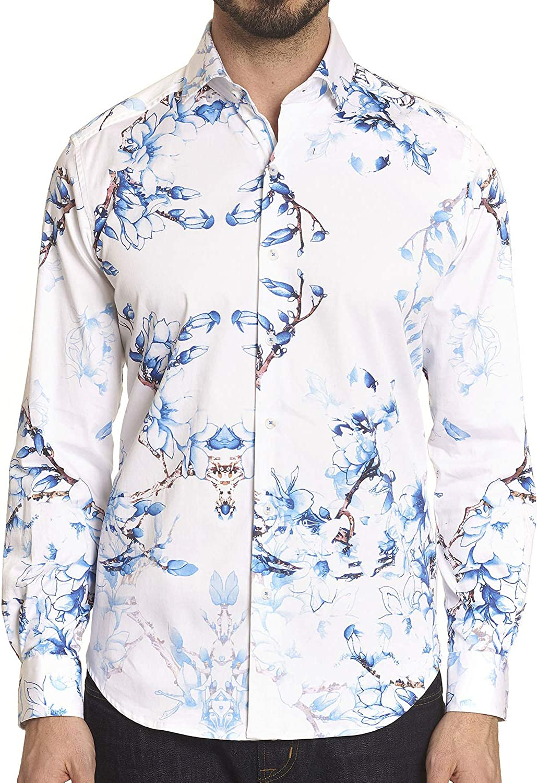 Robert Graham Mens Aiden L//S Woven Shirt